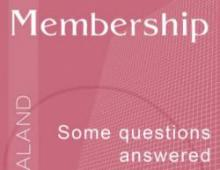 Brochure on membership of the Theosophical Society