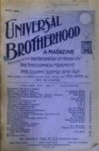 Universal Brotherhood Path magazine archives