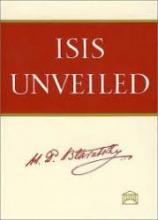Ebook of Isis Unveiled by HP Blavatsky