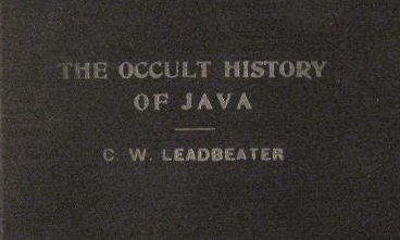 The Occult History of Java