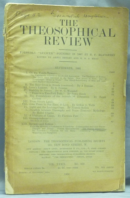 The Theosophical Review