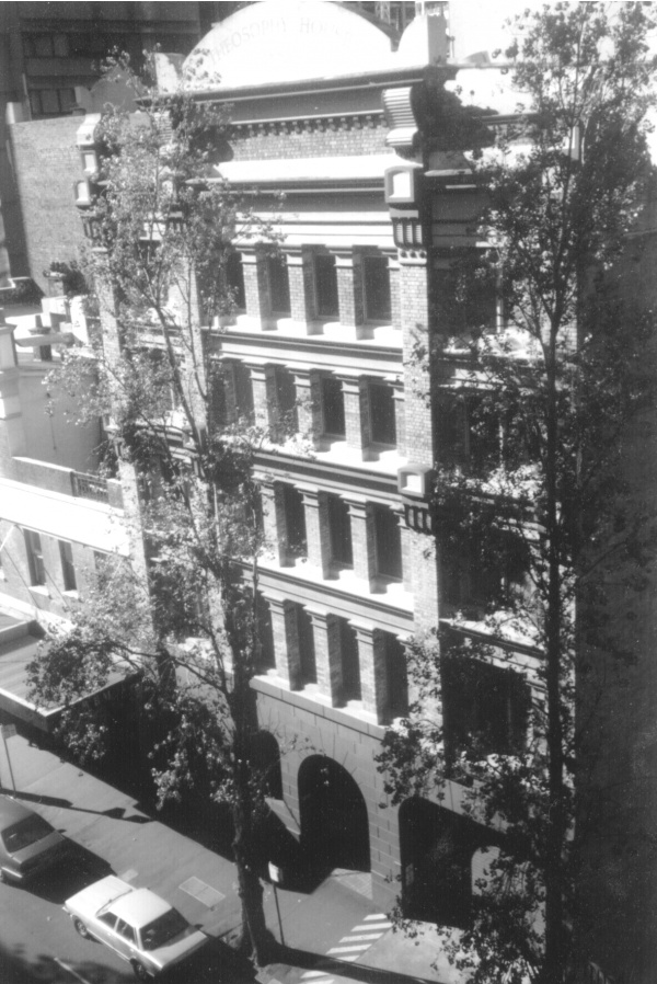 Headquarters of the Theosophical Society in Australia