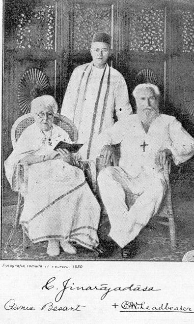 Besant, Leadbeater and Jinarajadasa