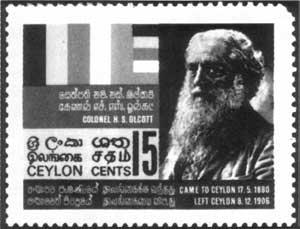 Stamp issues on Ceylon (Sri Lanka)