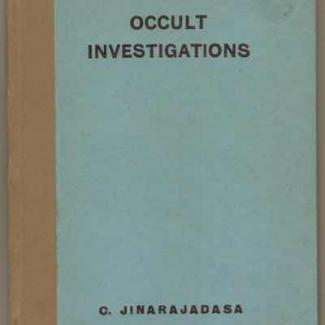 ebook - Occult Investigations