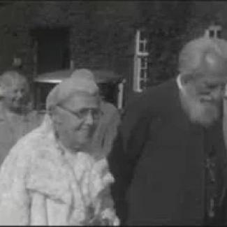 CW Leadbeater, A Besant and J Krishnamurti video from around 1920