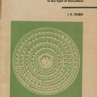 Self Culture in the light of Occultism_ by IK Taimni