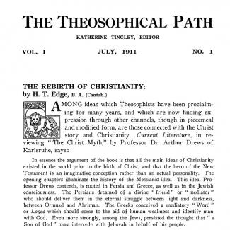The Theosophical Path
